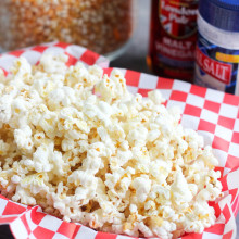 Sea Salt & Vinegar Popcorn