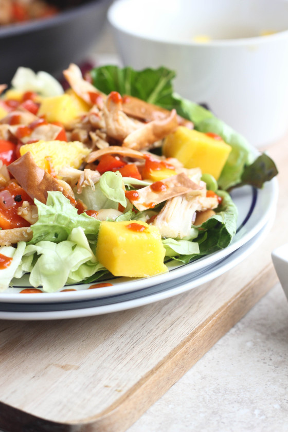 Mango Cashew Chicken Salad