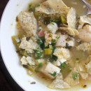 Verde Chicken Tortilla Soup