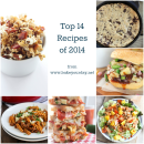 Top 14 Recipes of 2014 from Bake Your Day