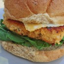 Buffalo Chicken Burger 1