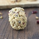 Oatmeal Cranberry Pistachio Cookies | bakeyourday.net