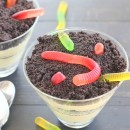 Worms and Dirt Pudding Parfaits