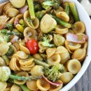 Asian Sesame-Ginger Roasted Veggie Pasta