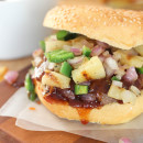 Spicy Bourbon BBQ Burgers